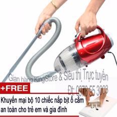 Hình ảnh Máy hút và thổi bụi 2 chiều cầm tay Vacuum Cleaner JK-8 + Tặng kèm 10 nắp bịt ổ cắm điện an toàn cho trẻ em và gia đình (Siêu thị VN)