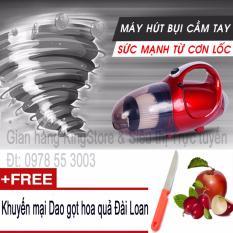 Hình ảnh Máy hút và thổi bụi 2 chiều cầm tay Vacuum Cleaner JK-8 + Tặng kèm Dao gọt hoa quả Đài Loan