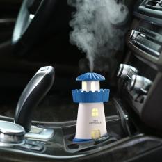 Hình ảnh Máy khuếch tán tinh dầu cao cấp Lighthouse Humidifier cáp sạc USB