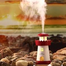 Máy khuếch tán tinh dầu kiêm đèn ngủ Lighthouse Humidifier - Phụ kiện cho bạn vip 368