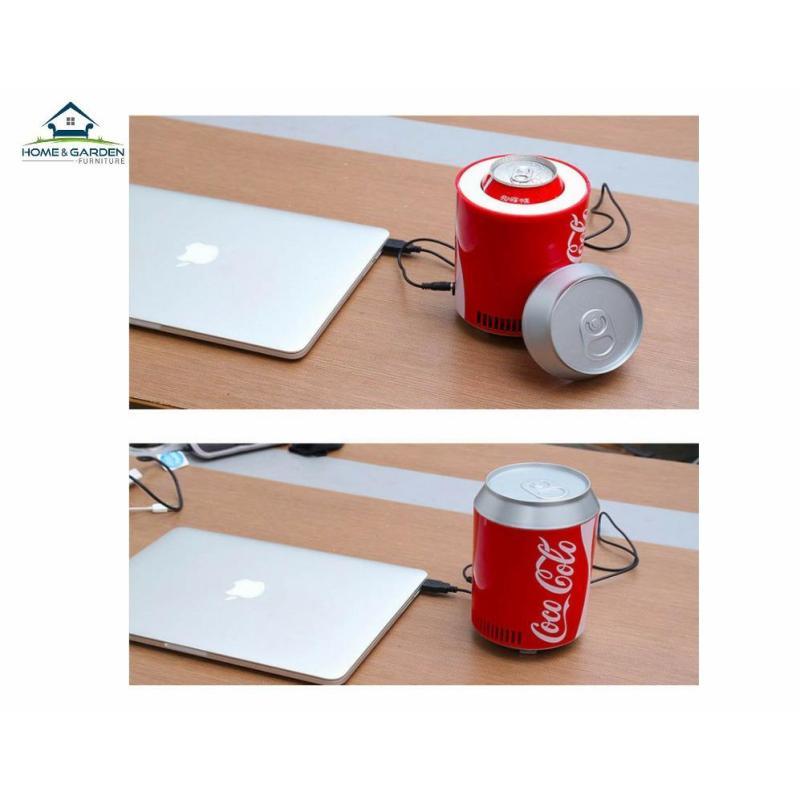 Máy làm lạnh nước uống mini cổng USB 1 lon nước ngọt hoặc 1 chai nước mini