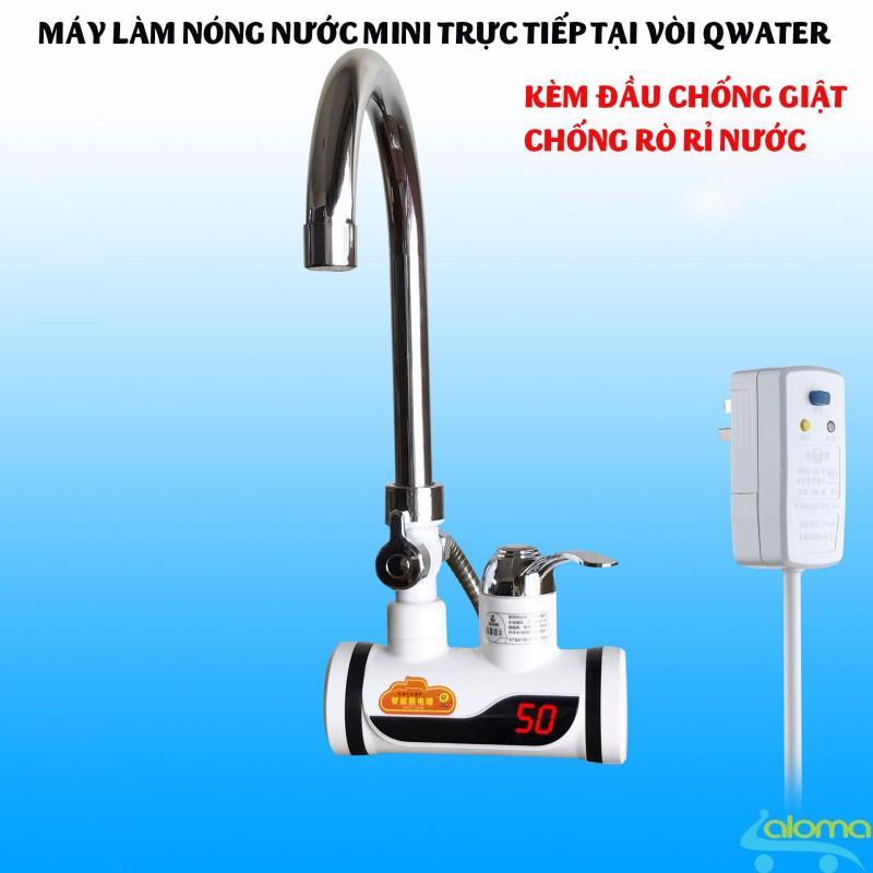 Bảng giá Máy làm nóng nước trực tiếp trong 3 giây QWater RX-01 có hiện nhiệt độ Điện máy Pico