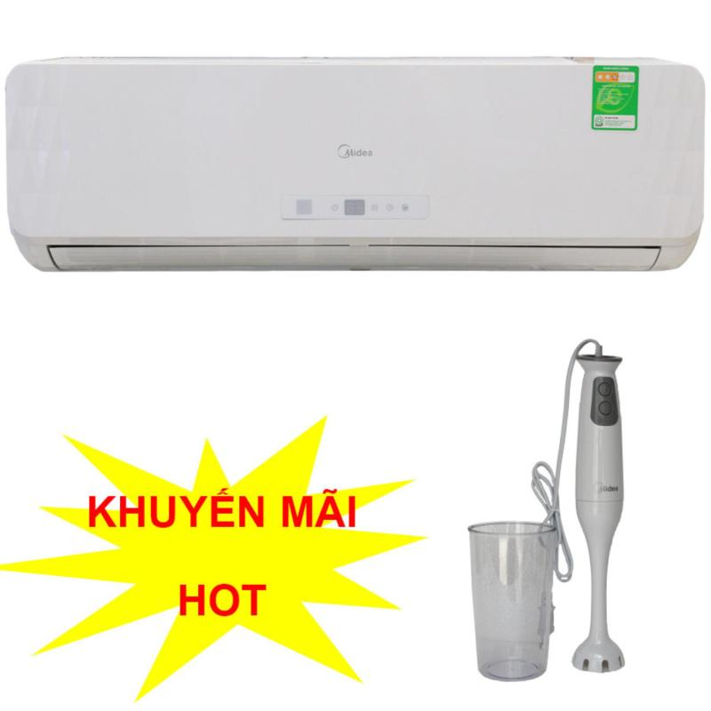 Bảng giá Máy lạnh 1HP Midea MSMA09-CR+ Tặng máy xay cầm tay Midea MJ-BH40C1 trị giá 499,000vnd