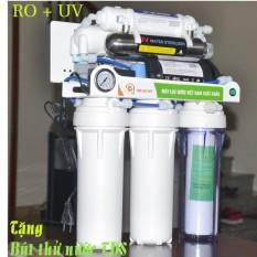 Máy Lọc Nước Đèn UV 7 Cấp TDV ( Bản Cao Cấp) + Tặng bút thử nước TDS