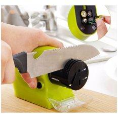 Hình ảnh Máy mài dao & kéo đa năng dùng pin Swifty Sharp (Xanh)