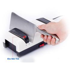 Hình ảnh Máy mài dao bằng điện Momscook (tặng thêm 2 viên đá mài)