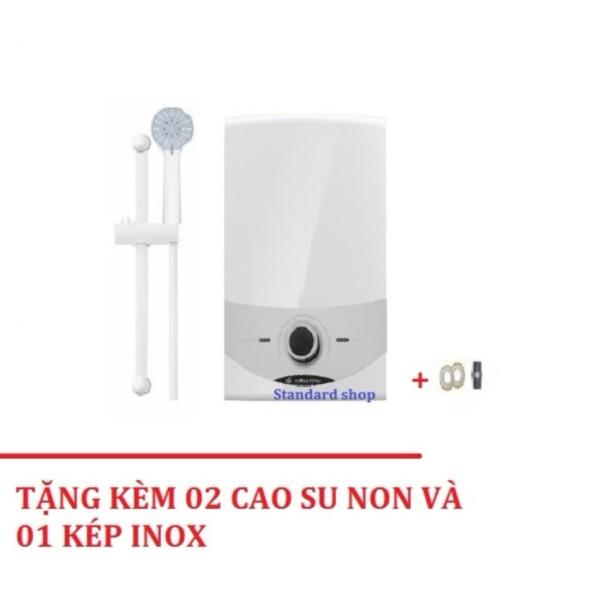 Bảng giá Máy nước nóng trực tiếp không bơm Ariston SM45E-VN + Tặng 02 cao su non và 01 kép inox  - Chất Lượng Cao