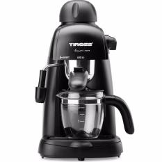 Chiết Khấu May Pha Ca Phe Espresso 4 Cốc Tiross Ts620 Đen