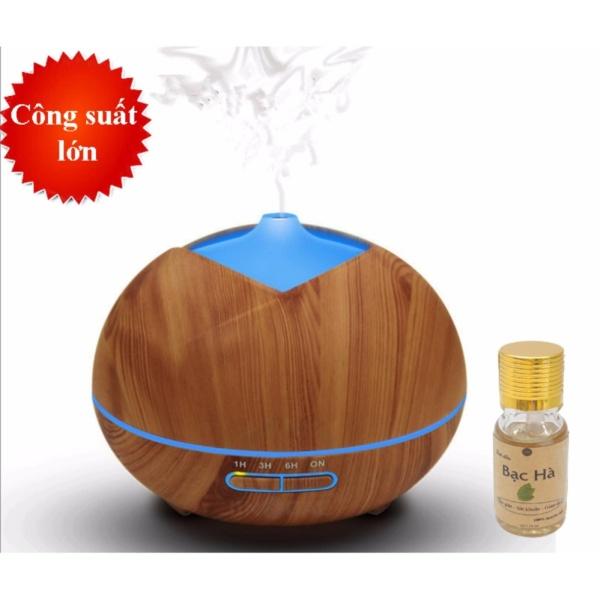Bảng giá Máy phun sương tạo ẩm dung tích 400ml tặng 10ml tinh dầu bạc hà Ngọc Tuyết