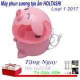 Giá Bán May Phun Sương Tạo Ẩm Holtashi Hinh Lợn Hồng Loại 1 2017 Tặng Ngay Đen Led Usb Trị Gia 69K Trong Hà Nội