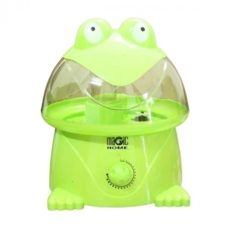 Bảng giá Máy phun sương tạo độ ẩm làm mát không khí Magic Home hình ếch (Xanh lá)-Nino shop