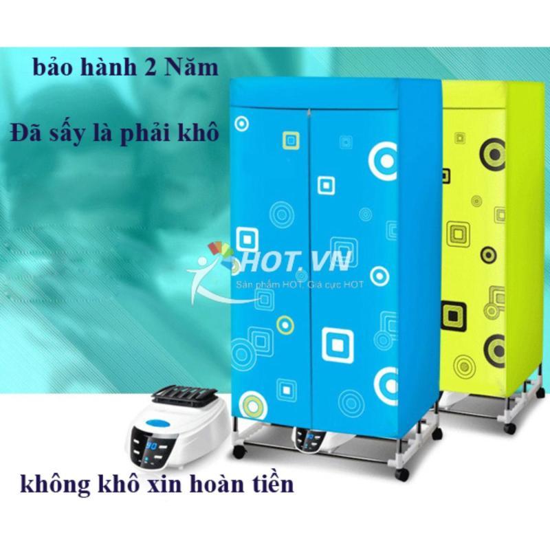Máy sấy quần áo HD882F đễ sử dụng có điều khiển (xanh)(Tiết kiệm 50% điện)