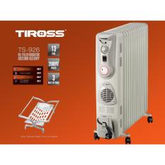 Máy sưởi dầu 13 thanh Tiross TS-926(XÁM)-+ Tặng 01 Giá phơi quần áo