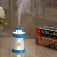 Máy xông tinh dầu kiêm đèn ngủ Lighthouse Humidifier - Phụ kiện cho bạn vip 368