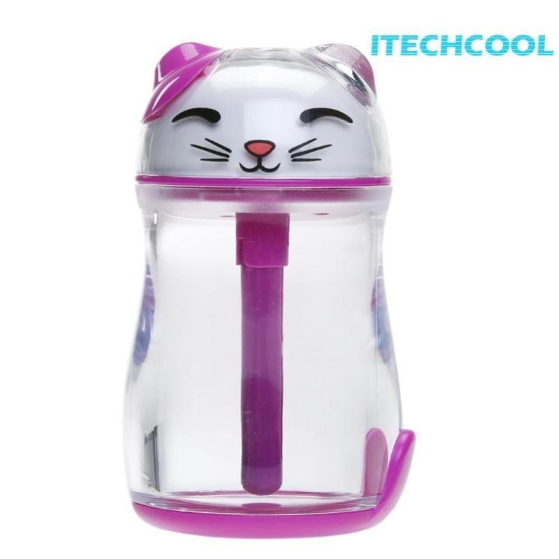 Bảng giá Mini Máy Tạo Độ Ẩm Không Khí Mèo May Mắn Hình Máy Tính Để Bàn USB Dầu Tinh Máy Khuếch Tán Tinh Dầu Phun Sương- quốc tế