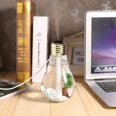 Bảng giá Gia Đình Mini USB Hương Thơm Máy Khuếch Tán Tinh Dầu Tạo Ẩm Bóng Đèn Hình Máy Lọc Không Khí Đèn Ngủ led (Trong Suốt)-quốc tế