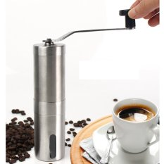 Hình ảnh New Coffee Grinder Convenient Stainless Steel Manual Detachable Easy to Assemble Coffee Machine Portable Coffee Mill Adjustable Ceramic Burr Manual 30g Coffee Powder Yield