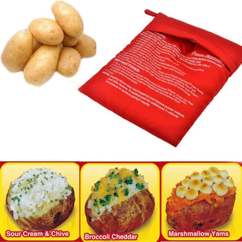 Bảng giá New Kitchen Cooking Washable Reuseable Bags Microwave Baked Potato Express Bag (Replenishment: 20 From) - intl Điện máy Pico