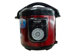 Hình ảnh Nồi áp suất điện Sharp KS-180S 6L (Đỏ)