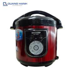 Hình ảnh Nồi áp suất điện Sharp KS-180V 6 lít (Đỏ) - Hãng phân phối