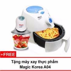 Nồi Chien Chan Khong Đa Năng Magic Korea A70 New Trắng Tặng 1 May Xay Thực Phẩm Magic Rẻ Trong Hồ Chí Minh