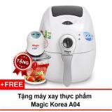 Cửa Hàng Nồi Chien Chan Khong Đa Năng Magic Korea A71 2 2L Trắng Tặng 1 May Xay Thực Phẩm Rẻ Nhất