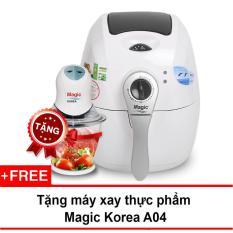Nồi Chien Chan Khong Đa Năng Magic Korea A71 2 2L Trắng Tặng 1 May Xay Thực Phẩm Trong Hồ Chí Minh