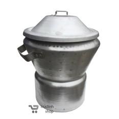 Hình ảnh Nồi chõ nấu (đồ) xôi nhôm đúc đa năng TL ( loại nấu 1kg gạo)