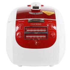 Hình ảnh Nồi cơm áp suất điện tử Cuckoo CRP-G1015M 1.8L (Trắng Đỏ)