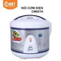 Nồi Cơm điện Nắp Gài Comet CM8018 1.8L Có Giá Tốt