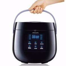 Mã Khuyến Mại Nồi Cơm Điện Mini Điện Tử Philips Hd3060 7L Đen Rẻ