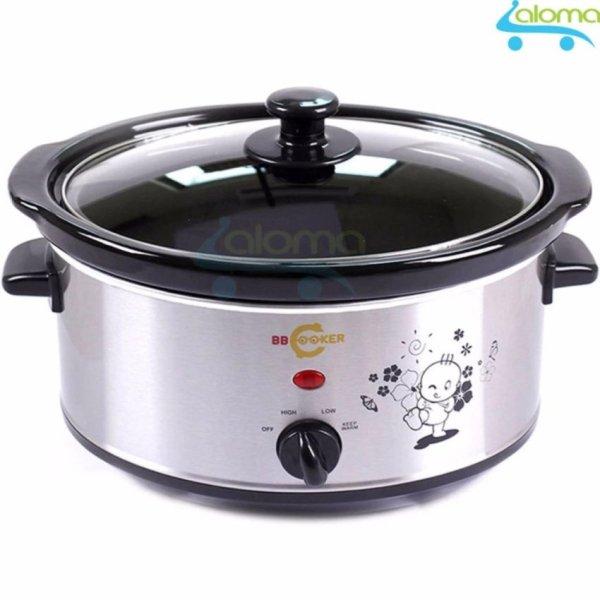 Nồi điện lõi sứ hầm thịt kho cá nấu cháo dinh dưỡng 3.5 lít BBcooker BS35