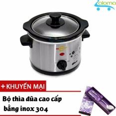Hình ảnh Nồi nấu chậm-hầm-kho-nấu 1.5 lít BBcooker BS15 - Tặng bồ thìa đũa bằng Inox