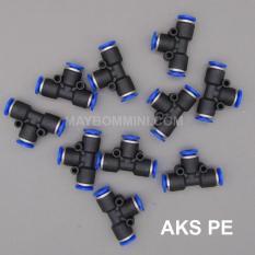 Hình ảnh Nối nhanh AKS chia 3 PE-12 bộ 5 cái
