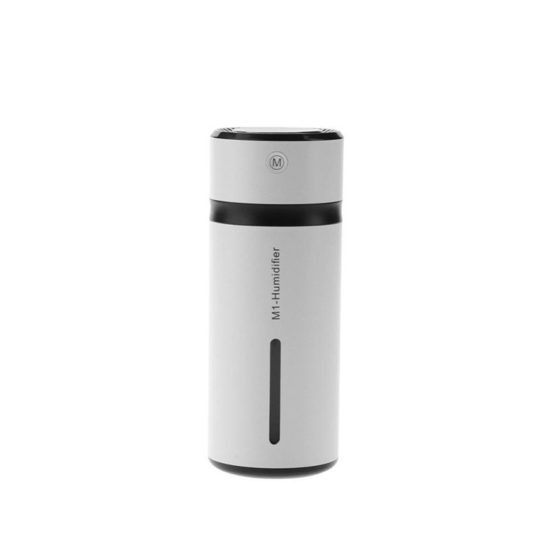 Bảng giá Portable M1 Car Air Humidifier 240ML USB LED Light Mini Mist Maker Diffuser(Black) - intl