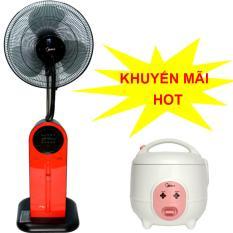 Bảng giá Quạt điện phun sương Midea FS40-13QR có điều khiển  + Tặng nồi cơm điện Midea MR-CM06SA trị giá 459,000vnd