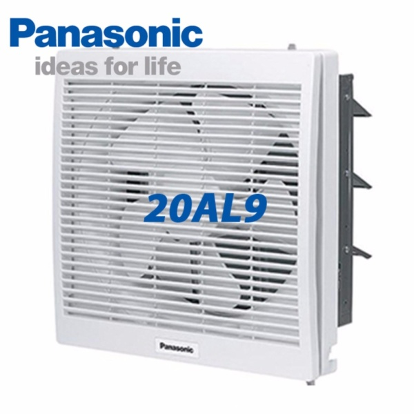Quạt hút gắn tường Panasonic FV-20AL9 - 1 chiều có màn che(Trắng)