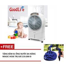 Bảng giá Quạt làm lạnh không khí GoodLife (Trắng xám)+ Tặng 01 ống nước đa năng