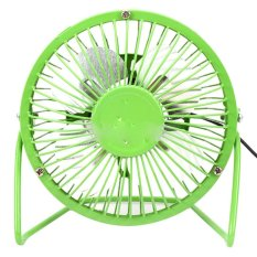 Giá Bán Rẻ Nhất Quạt Lồng Sắt Mini Usb Fan 360 Độ Xanh La