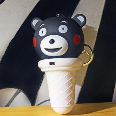 Quạt Phun Sương Mini Cầm Tay Gấu Truc Hồ Chí Minh Chiết Khấu 50