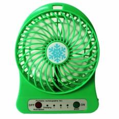 Quạt Sạc Để Bàn USB Mini Fan (Xanh Lá)