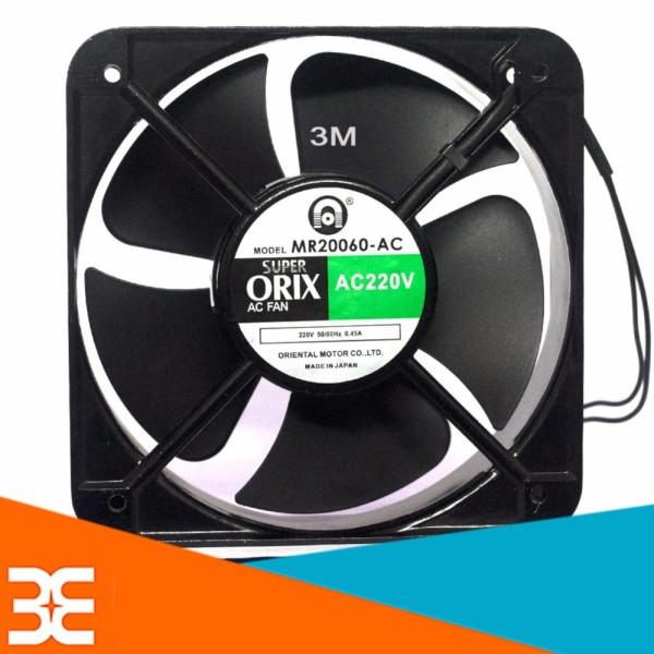 [Tp.HCM] Quạt Tản Nhiệt ORIX 20x20x6cm 220VAC 100W
