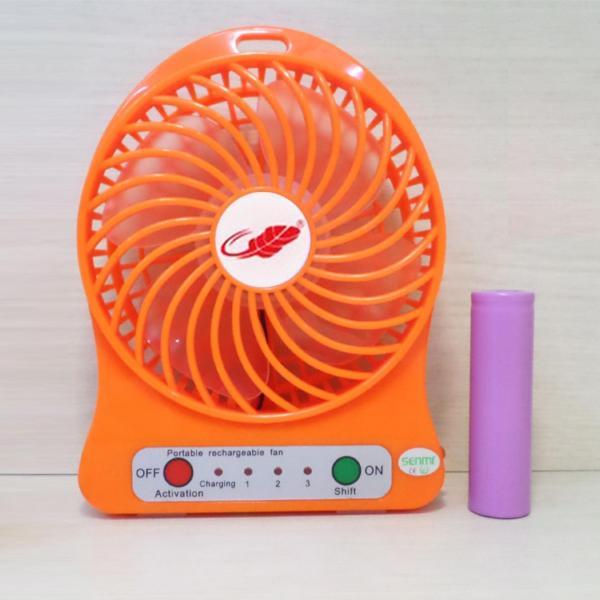 Quạt Sạc Tích Điện USB mini Fan
