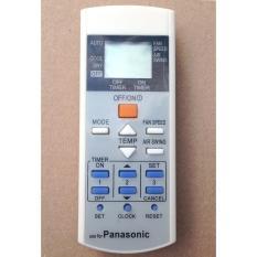 Hình ảnh Remote Điều Khiển Máy Lạnh, máy Điều Hòa Panasonic A75C2913, CS-E21EKU, CS-E9EKU, CU-E12E