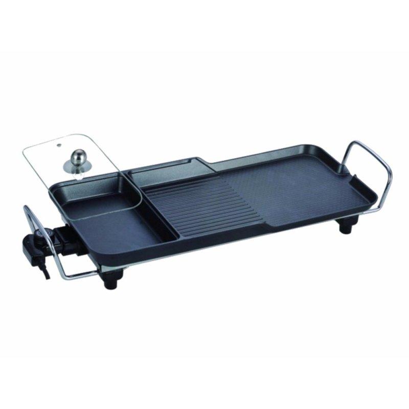 Bảng giá Bếp nướng điện ba ngăn không khói SECITE G-5 , xào, nấu lẩu, nướng chiên, hấp Điện máy Pico