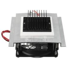 Hình ảnh Lạnh bán dẫn miếng tủ lạnh làm mát nhỏ mini điều hòa không khí lạnh thành phần làm mát bộ-quốc tế