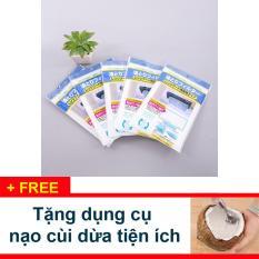 Hình ảnh Tấm Lót Lọc Dầu Mỡ Chuyên Dụng Cho Máy Hút Mùi + Tặng dụng cụ nạo dừa