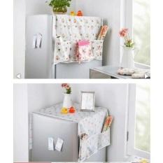 Hình ảnh Tấm Phủ Tủ Lạnh Và Lò Vi Sóng Tiện Dụng