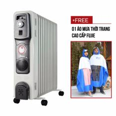 Máy sưởi dầu FujiE OFR4613 (13 thanh )+ Tặng áo mưa fujie