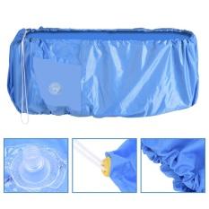 Hình ảnh TMISHION Điều Hòa Làm Sạch Bụi Giặt Bao Chống Nước Bảo Vệ (Màu Xanh Dương M)-quốc tế